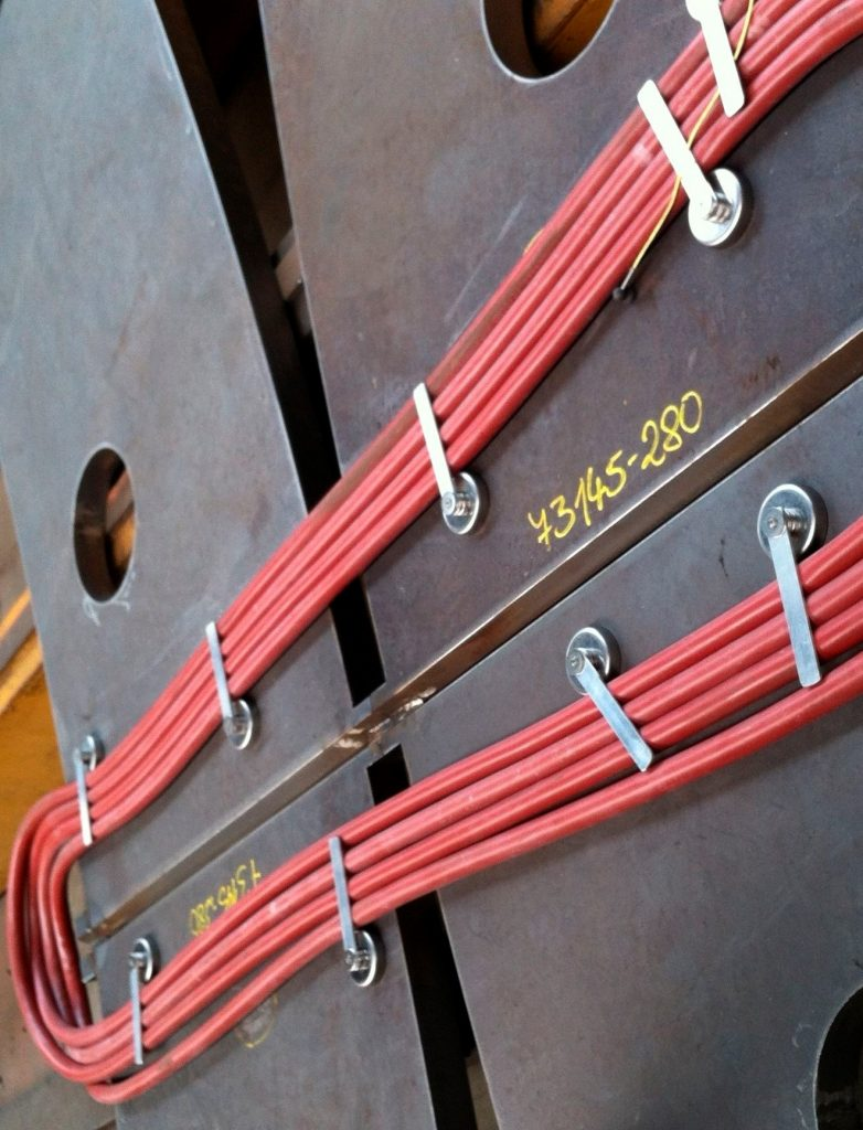پیش گرم قطعات فولادی - مانا تجارت سروش