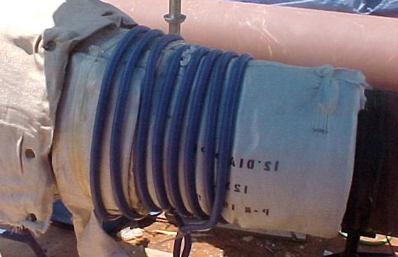 کنترل دمای قطعات در حین گرمایش با گرمکن القایی - مانا تجارت سروش